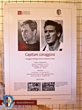 """In mostra a Torino """"Capitani coraggiosi"""": omaggio a due fuoriclasse"""