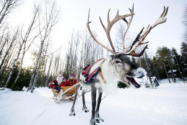 Babbo Natale Dove.Finlandia Ecco Dove Vive E Lavora Babbo Natale Tgcom24
