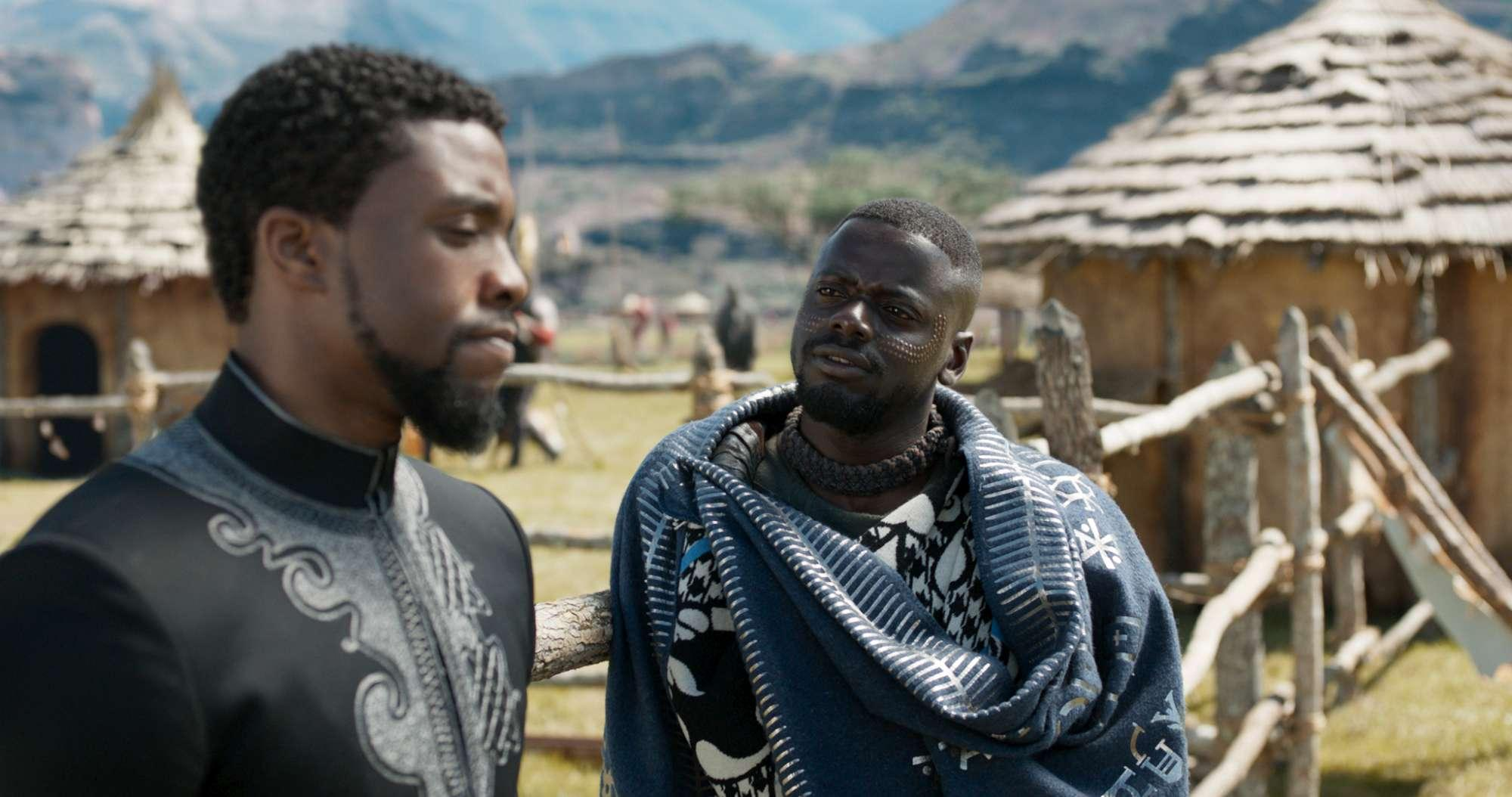 Black Panther , le immagini del film