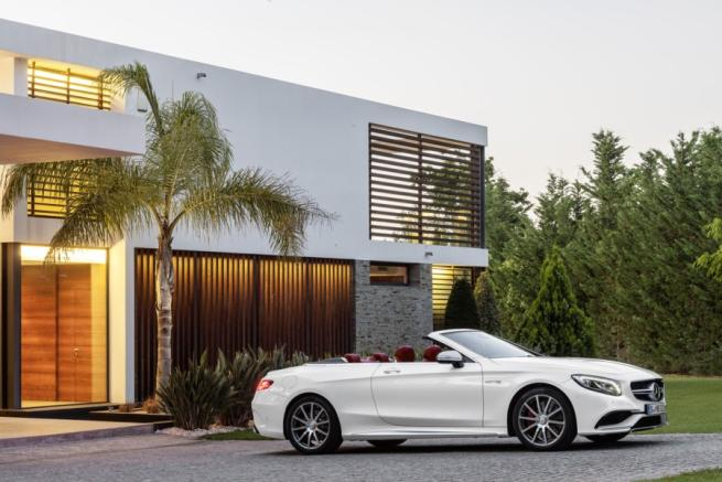 Mercedes Classe S Cabriolet, che fascino!