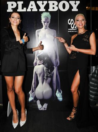 Le Donatella su Playboy, ecco le foto