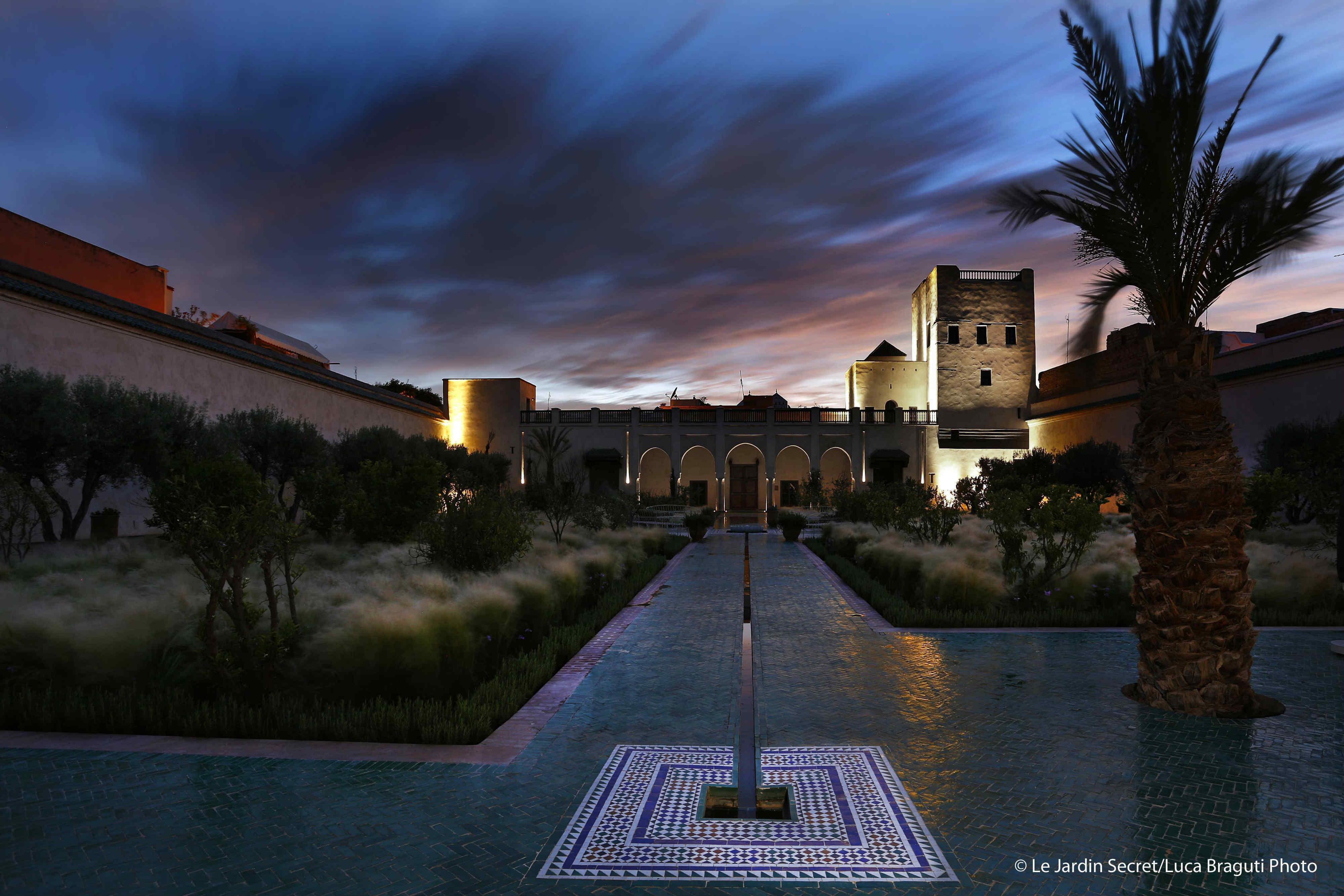 L 39 ultima perla di marrakech le jardin secret foto tgcom24 for Le jardin secret marrakech