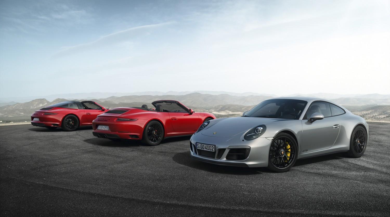 Porsche: le 5 nuove 911 GTS