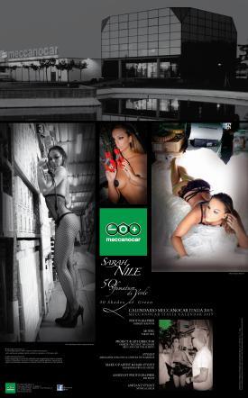 Sarah Nile Calendario.Sarah Nile L Ex Gieffina Di Nuovo Nuda Per Un Calendario Da