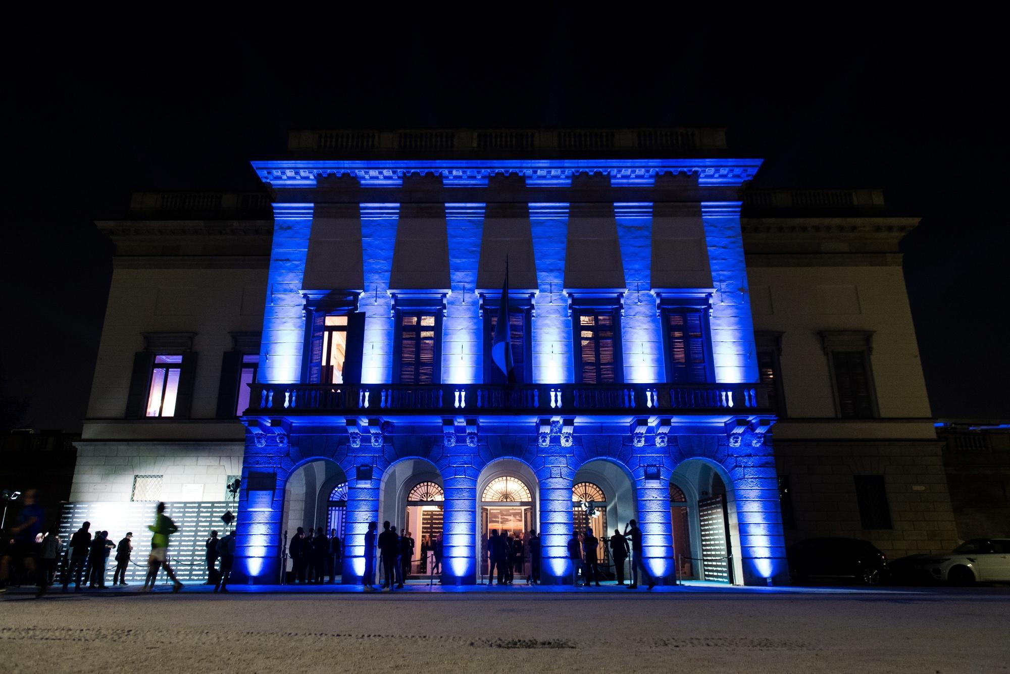 Milano spettacolo all 39 arena con a bigger show tgcom24 for Samsung arena milano