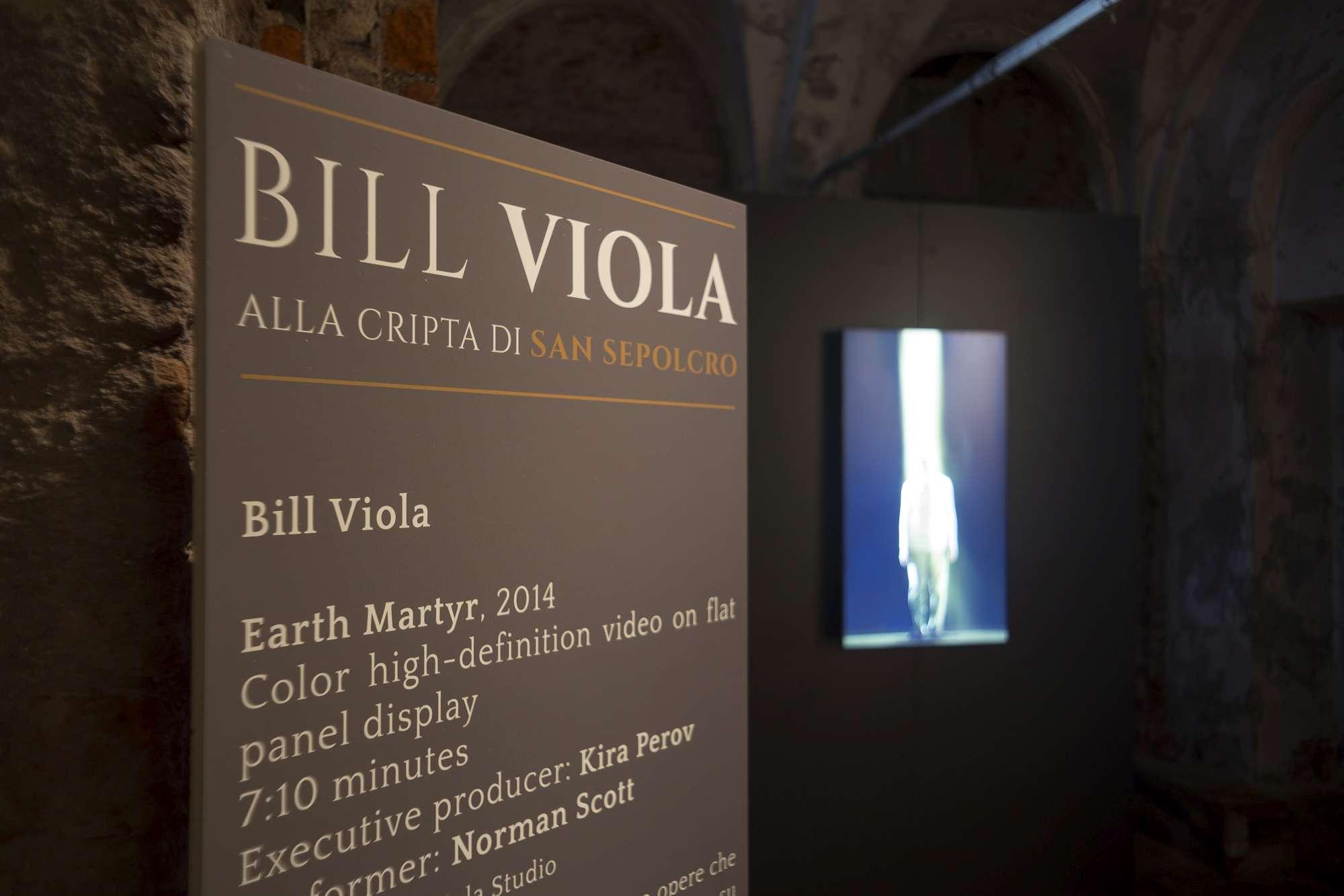 Le opere di Bill Viola nella cripta del Santo Sepolcro