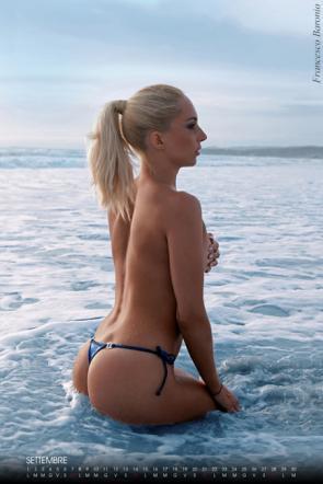 Giovanna Rigato, ex gieffina da calendario... hot