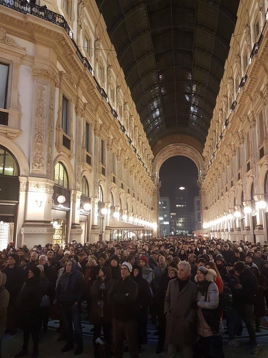 Milano,  Prima diffusa  per l apertura della stagione alla Scala