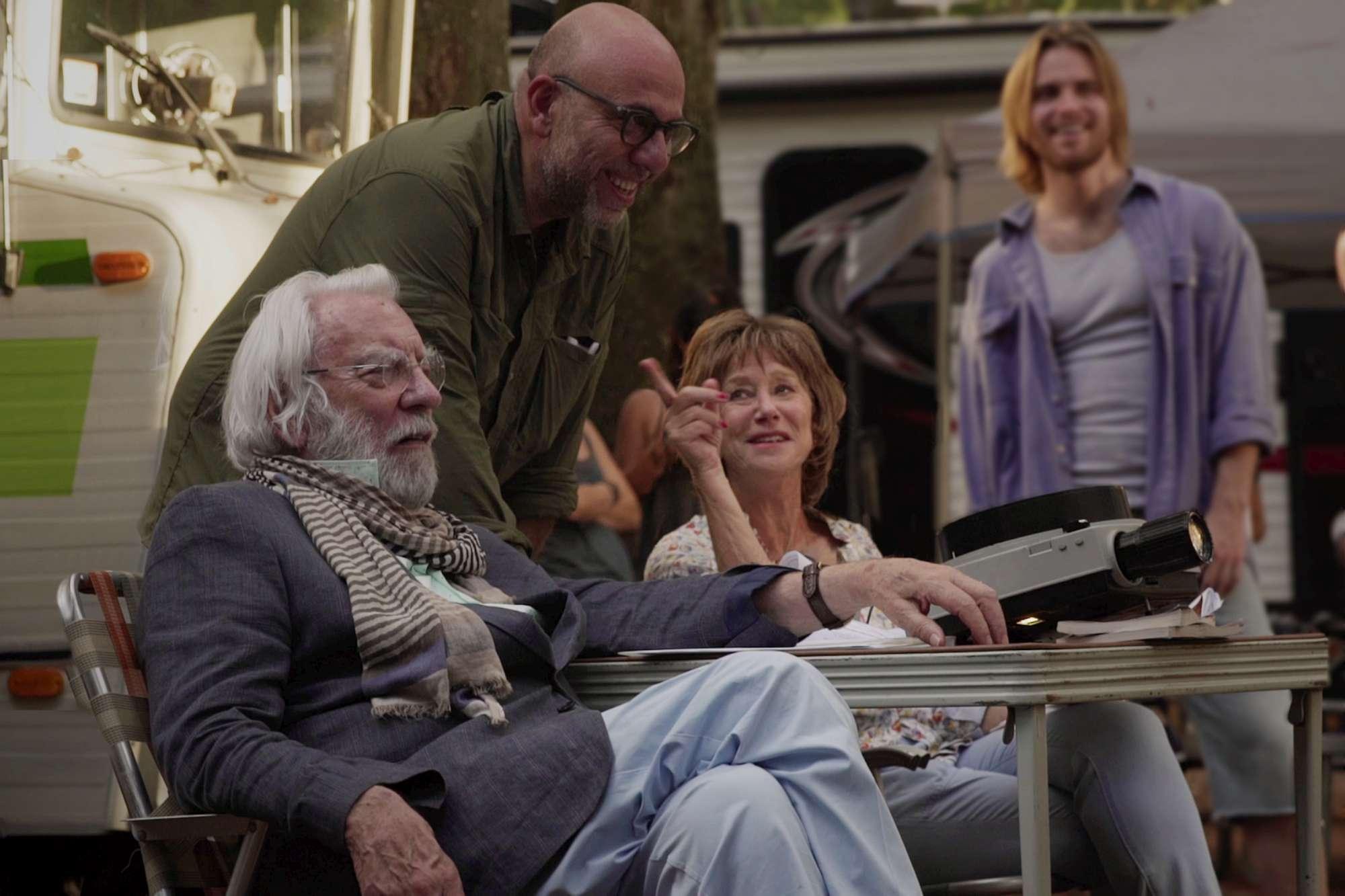 Ella eJohn  alcune scene del nuovo film di Virzì