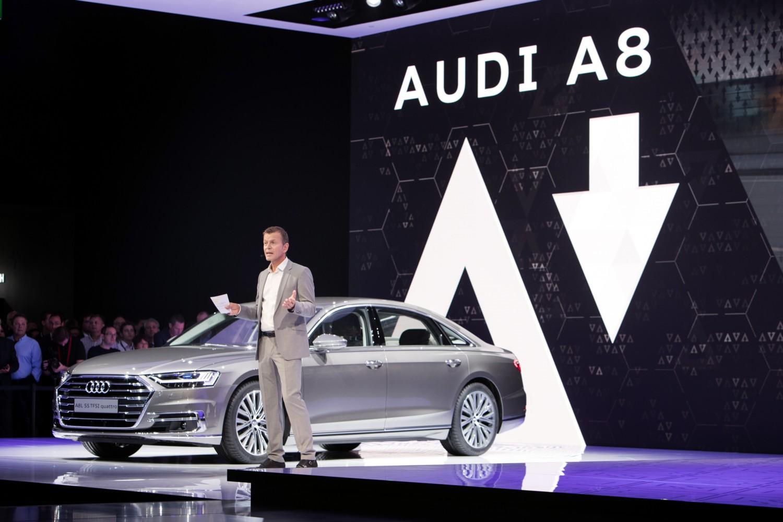 Audi al Salone di Francoforte 2017