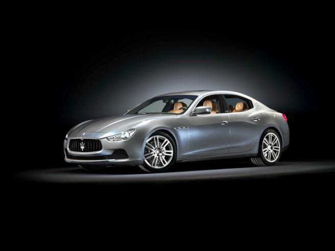 Maserati Ghibli by Ermenegildo Zegna