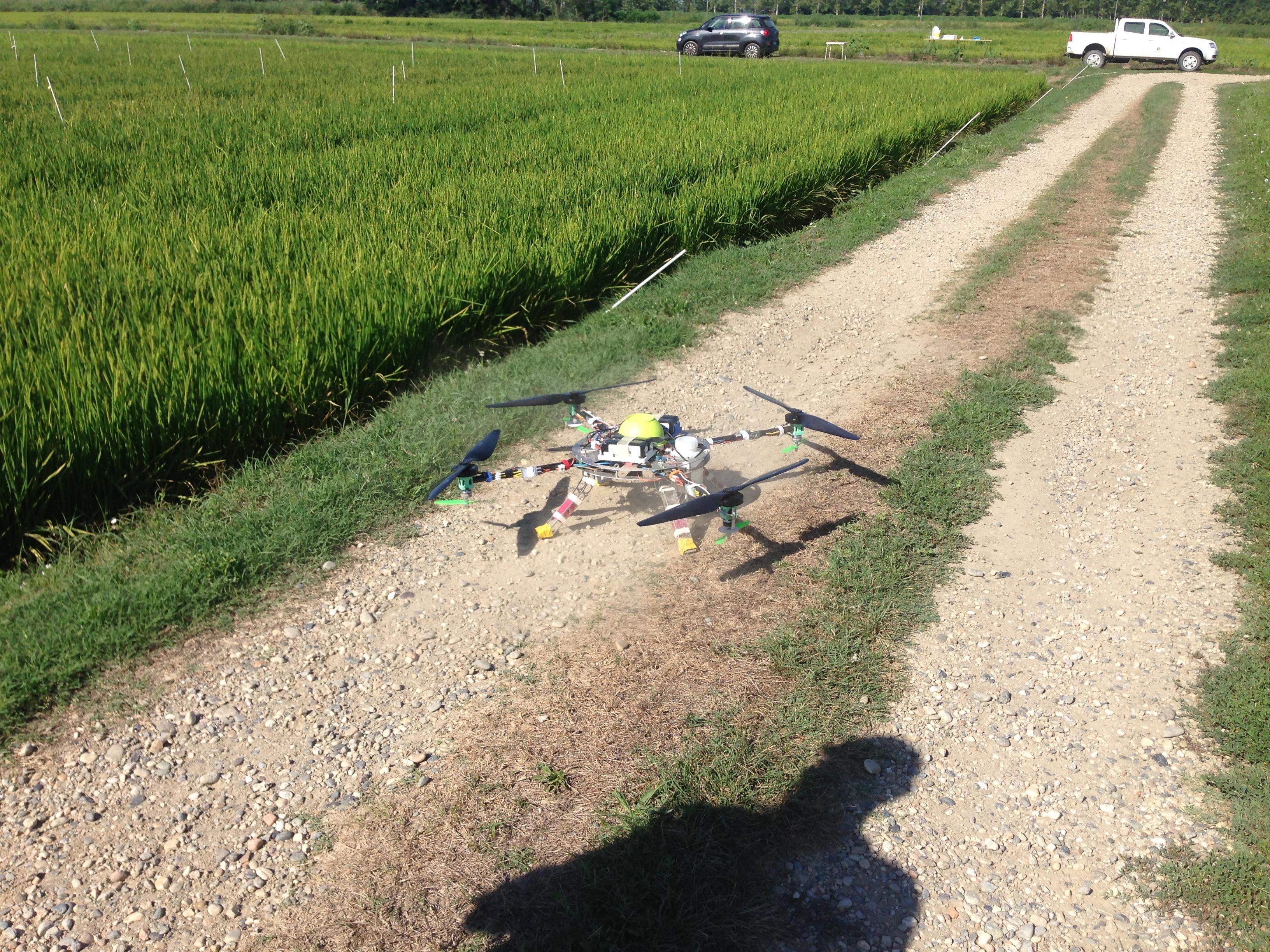 Dal politecnico di torino ecco i droni a caccia di zanzare for Le zanzare non pungono i malati
