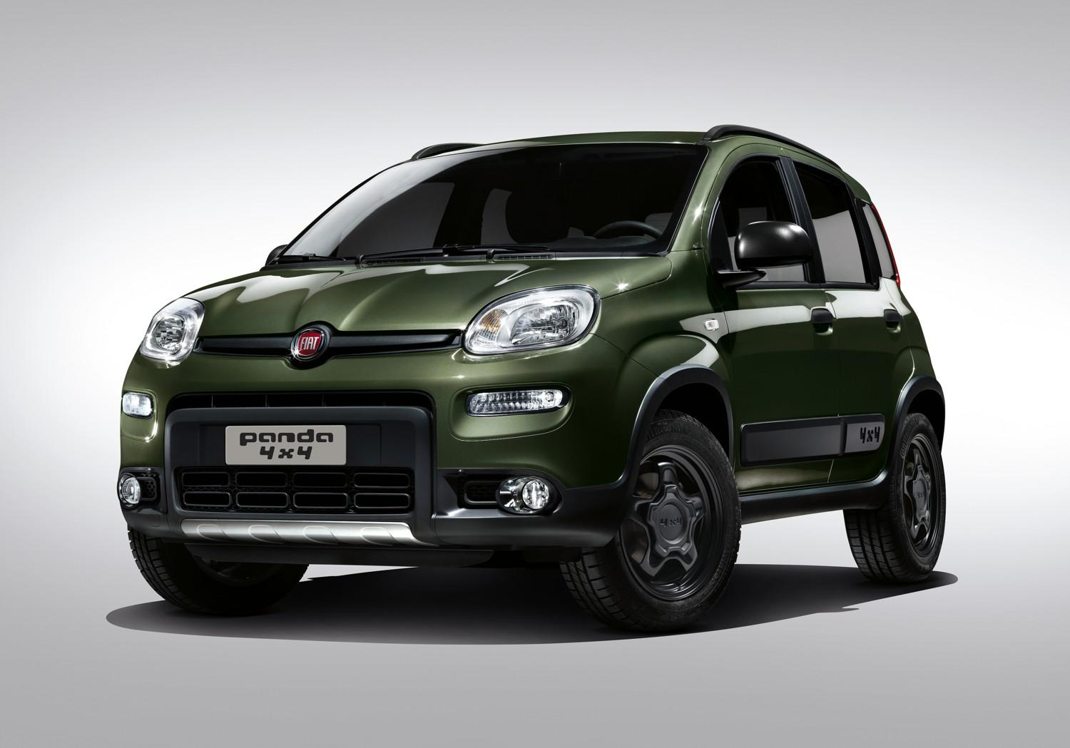 nuove fiat panda city cross e 4x4 foto tgcom24. Black Bedroom Furniture Sets. Home Design Ideas