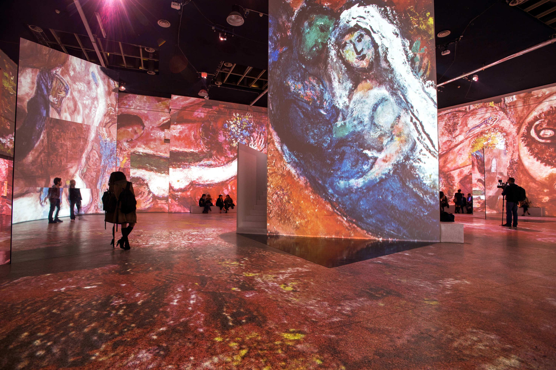 La mostra  Chagall. Sogno di una notte d estate