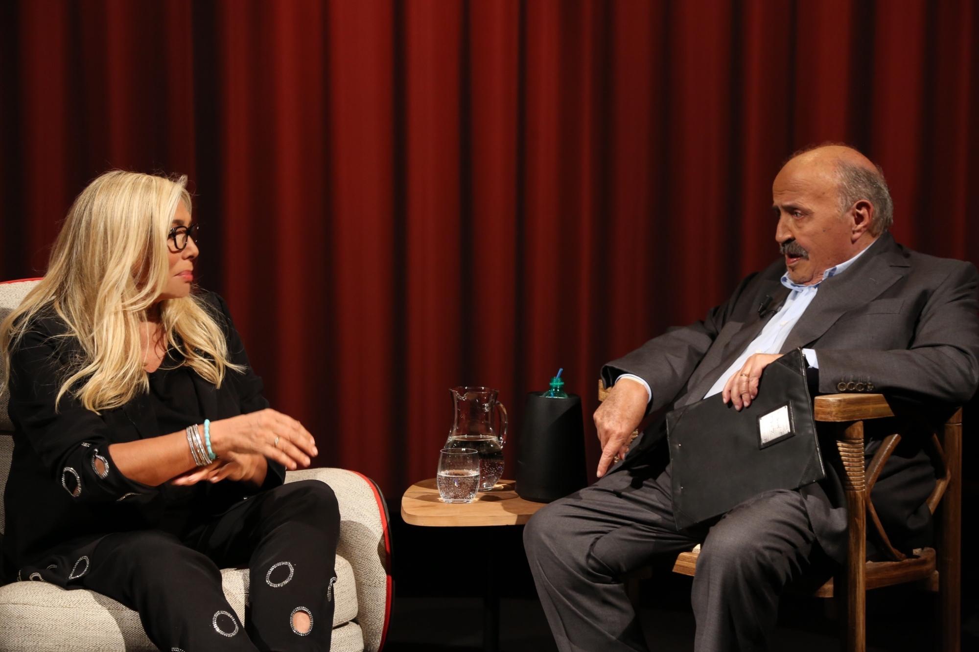 Mara Venier a cuore aperto da Maurizio Costanzo ne  L intervista