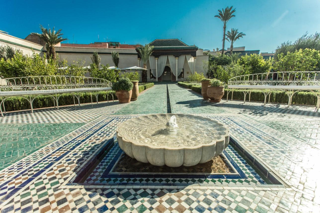 L 39 ultima perla di marrakech le jardin secret foto tgcom24 for Le jardin secret cannes