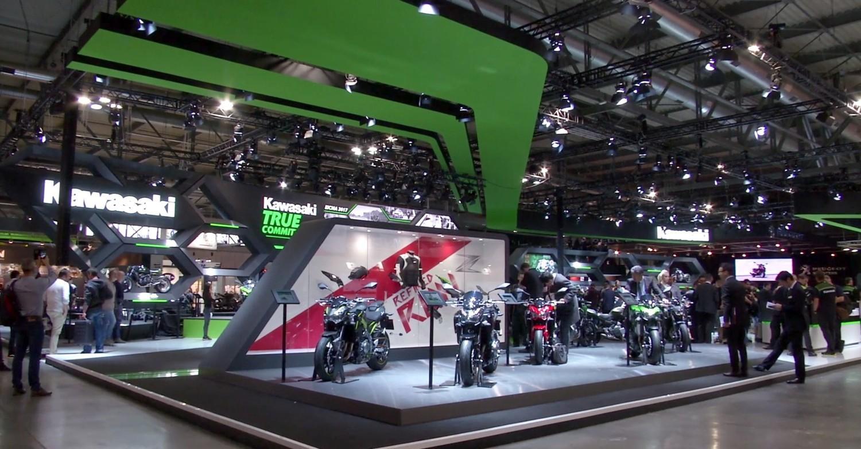 Le nuove superbike Kawasaki a Eicma