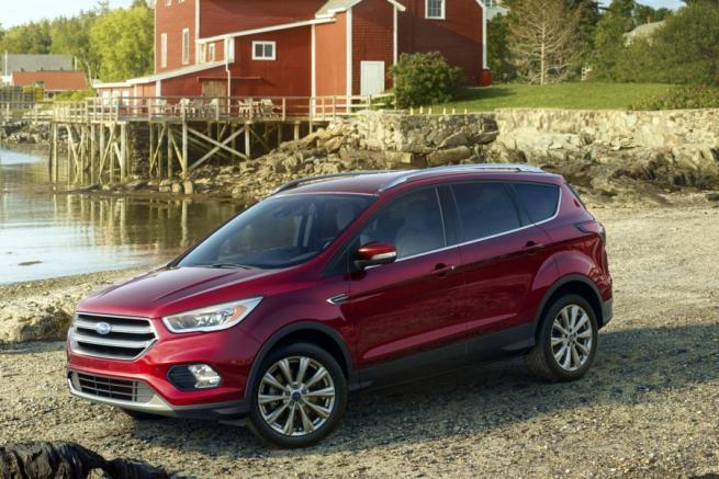 Nuovo Ford Kuga all'insegna dell'hi-tech