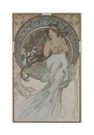 """""""Alfons Mucha e le atmosfere art nouveau"""", a Palazzo Reale il genio dello stile déco"""
