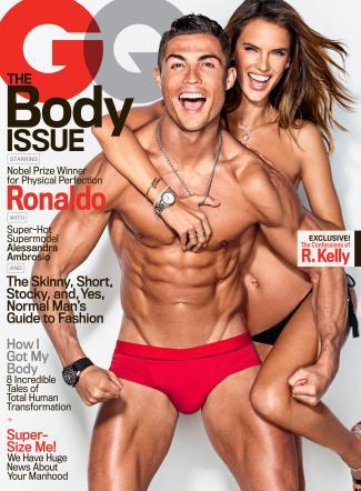 Cristiano Ronaldo-Alessandra Ambrosio coppia hot