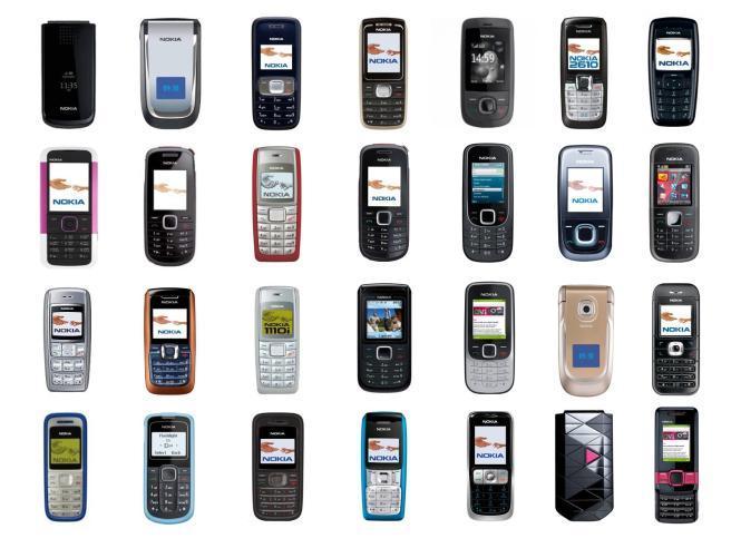 I modelli storici dei Nokia