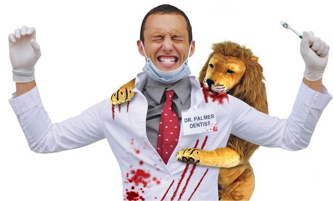 Leone Cecil, è guerra tra maschere insanguinate in vista di Halloween