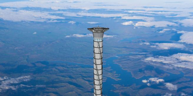 Toccare il cielo con un dito? Dal Canada ecco come fare: con una torre alta 20 Km