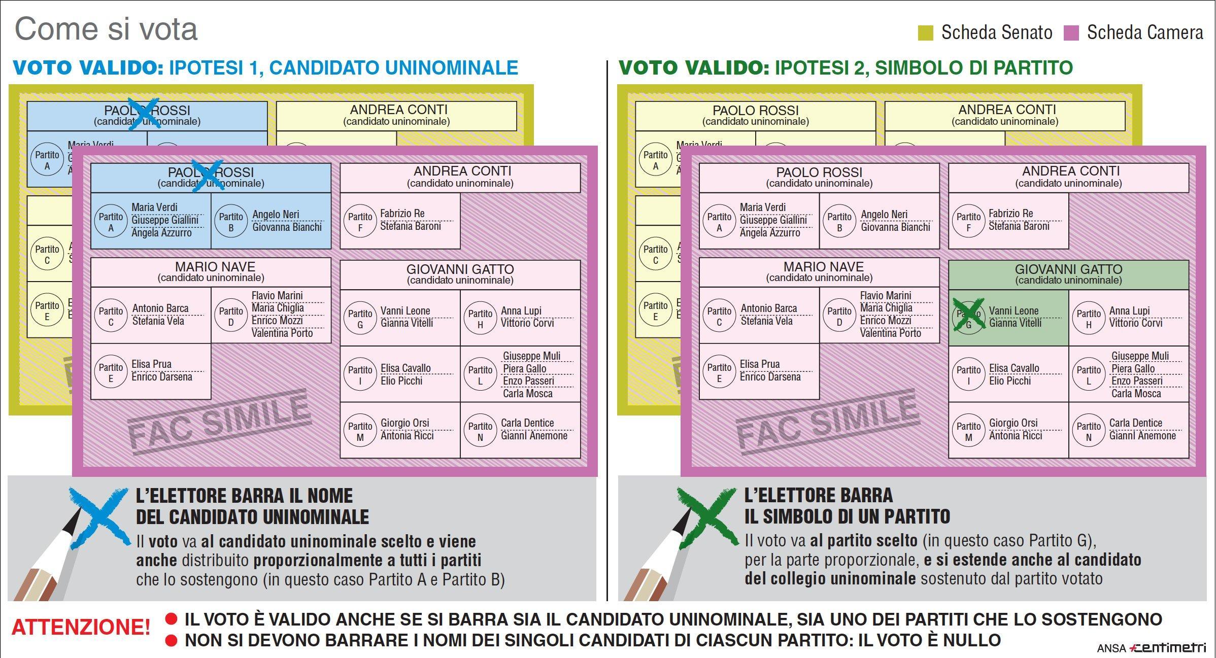 Risultati immagini per come si vota regionali 2018