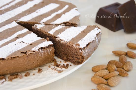 Ricetta torta tenerina al cioccolato bianco bimby
