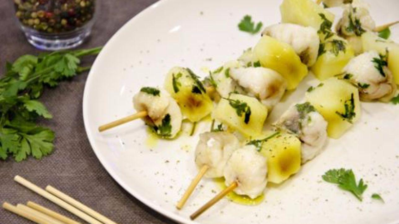 Spiedini di rana pescatrice e patate tgcom24 for Ricette di cucina estive