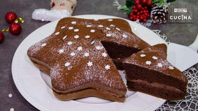 Torta stella alla nutella tgcom24 for Isola cucina a forma di torta