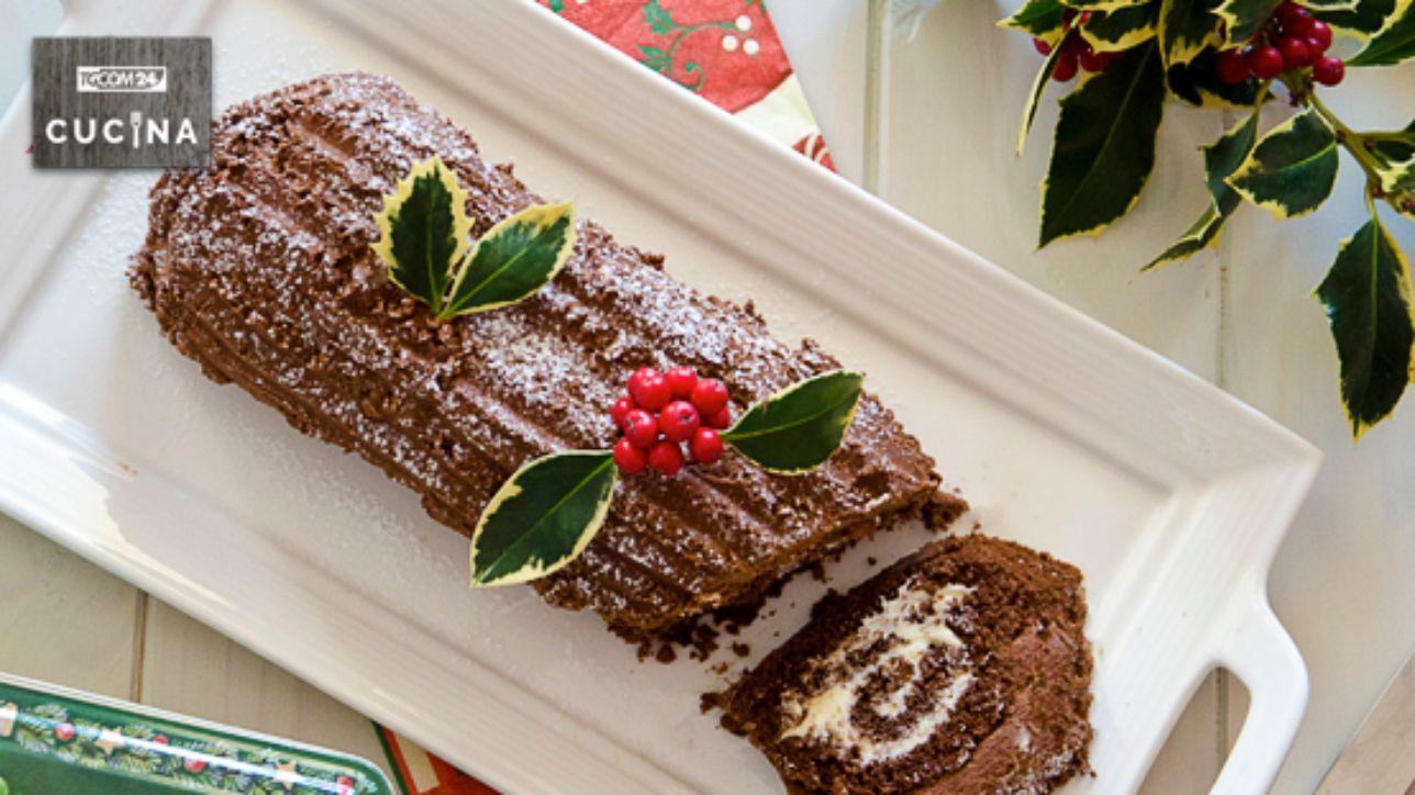 Ricetta Tronchetto Di Natale Per 10 Persone.Tronchetto Di Natale Tgcom24