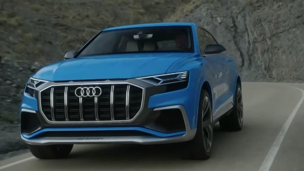 audi q8 concept al naias 2017 video tgcom24. Black Bedroom Furniture Sets. Home Design Ideas