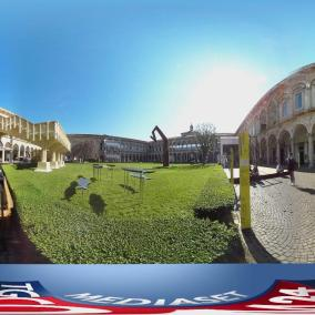 Video 360° evento Material Immaterial di Interni