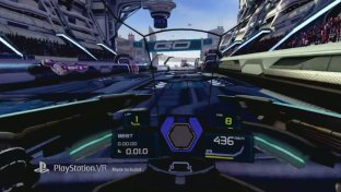 Wipeout: Omega Collection - il trailer della patch per PlayStation VR