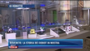 Robot in mostra a Rovereto
