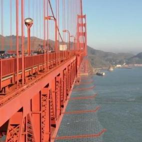 Usa, arrivano le reti anti-suicidio sul Golden Gate di San Francisco