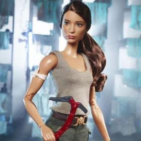 Arriva la Barbie di Lara Croft