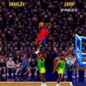 I personaggi politici (e non)  segreti  di NBA JAM Tournament