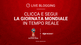 News, foto e tweet: il live blogging di Russia 2018