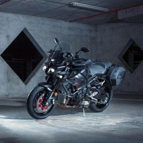 Il cuore racing di Yamaha MT-10 Tourer Edition