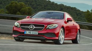 Mercedes Classe E Coupé, hot and cool
