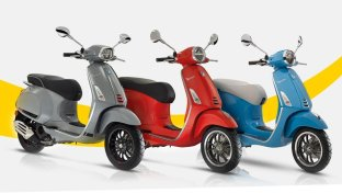 Vespa Color Days, Pontedera s'illumina di Vespa