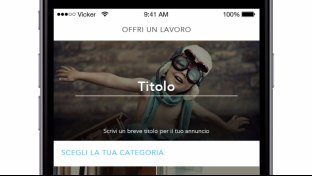 Vicker, l app che libera dalle incombenze quotidiane