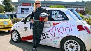 Katherine Kelly Lang, rally in Puglia per Brooke di  Beautiful