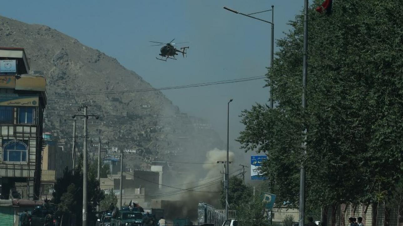 Elicottero Mediaset : Afghanistan cade elicottero nato in base militare
