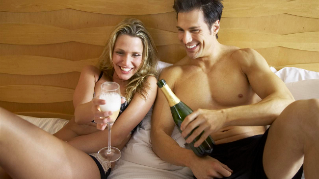 Le idee romantiche per una notte di passione