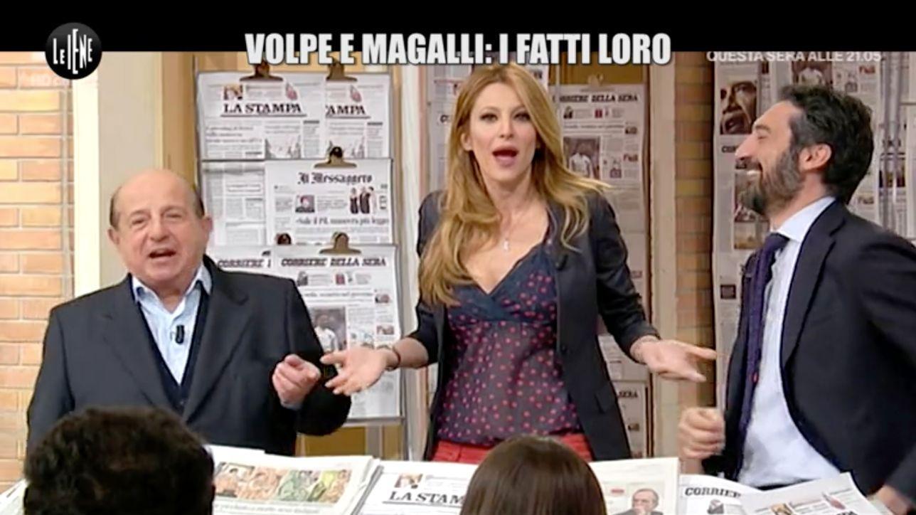 Magalli si scusa con Adriana Volpe: