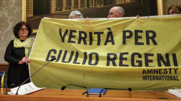 Caso Regeni Lettera Al Popolo Italiano Insieme Troveremo La