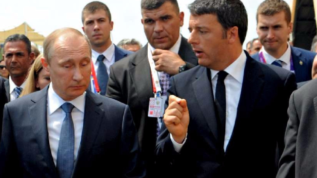 Russia, Renzi telefona a Putin